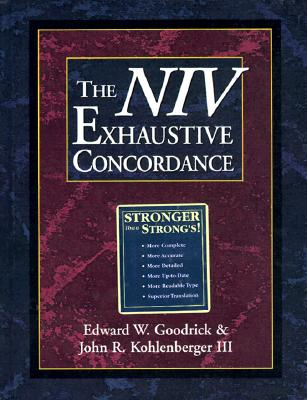 Image for The NIV Exhaustive Concordance ( A Regency Reference Library Book)