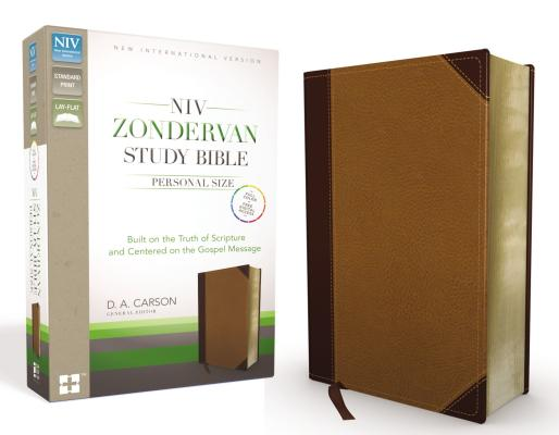 Image for NIV Zondervan Study Bible, Personal Size (Chocolate/Caramel)
