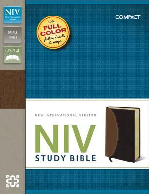 """Image for """"NIV Compact Study Bible (NIV, TanBur"""""""