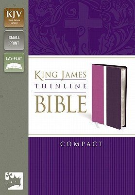 "Image for ""''King James Thinline Bible (KJV, Text, Compact, Dark OrchidDeep Plum Italian Duo-Tone)''"""