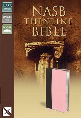"Image for ""NASB Thinline Bible, Italian Duo-Tone, Pink/Chocolate"""