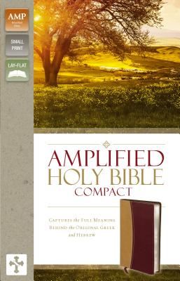 "Image for ""''Amplified Holy Bible, Compact, Imitation Leather, TanBurgundy: Captures the Full Meaning Behind th''"""