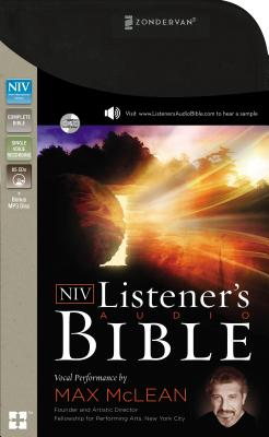 Image for The NIV Listener's Audio Bible: Vocal Performance by Max McLean
