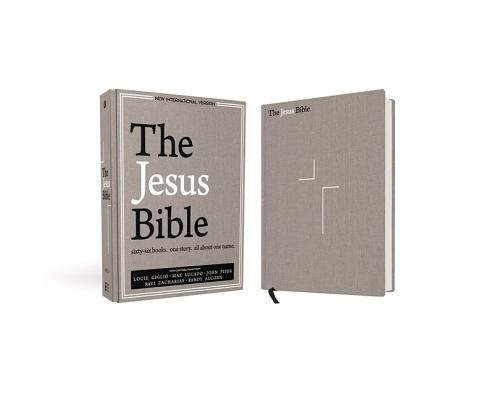 Image for NIV Jesus Bible Cloth over Board Gray Linen
