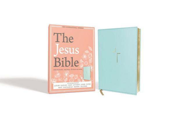 "Image for ""The Jesus Bible (NIV, Blue Imitation Leather)"""