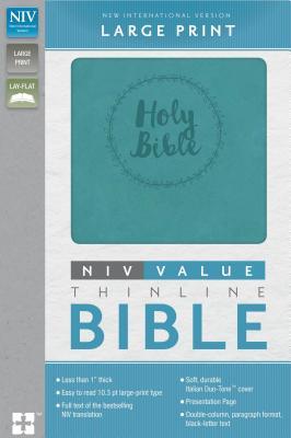 "Image for ""NIV, Value Thinline Bible (Large Print, Blue Imitation Leather)"""