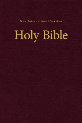 Image for NIV, Value Pew and Worship Bible, Hardcover, Burgundy