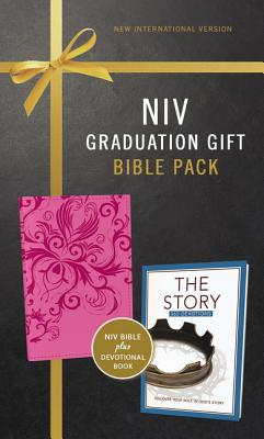 Image for NIV, Graduation Gift, Bible Pack for Her, Pink, Red Letter Edition