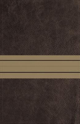 Image for NIV Thinline Bible Comp LS Brown/Tan RL