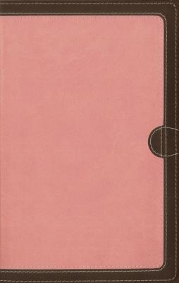 Image for NIV Thinline Bible Comp LS Pink/Brown RL