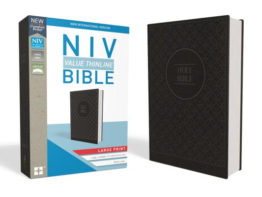 Image for NIV Value Thinline Bible LP LS Gray/Black