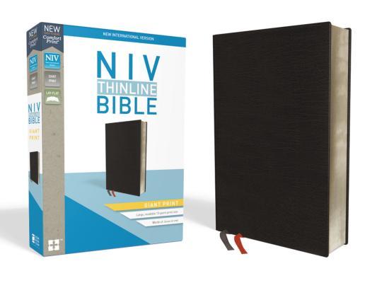 Image for NIV Thinline Bible GP Bnd Black Ind RL