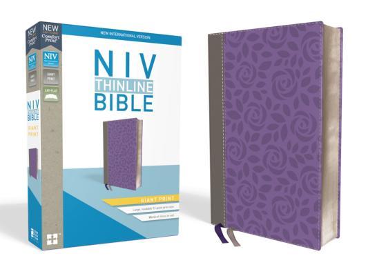 Image for NIV Thinline Bible GP LS Gray/Purple RL