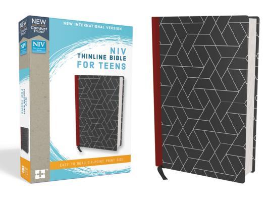Image for NIV Thinline Bible for Teens HC Black RL