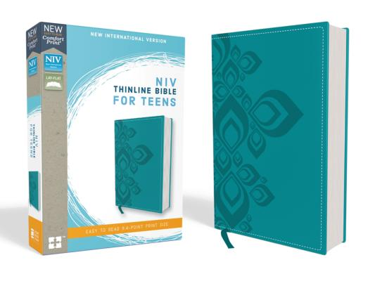 Image for NIV Thinline Bible for Teens LS Blue RL