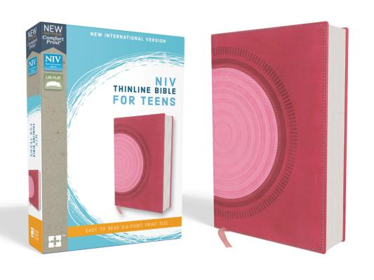 Image for NIV Thinline Bible for Teens LS Pink RL