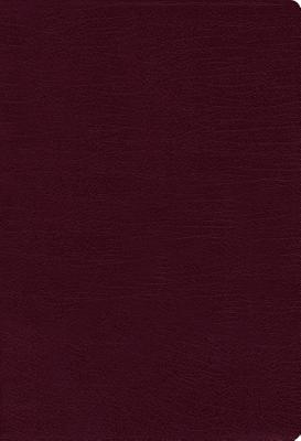 Image for NIV, THINLINE BIBLE, BONDED LEATHER, BURGUNDY, RED LETTER EDITION, COMFORT PRINT