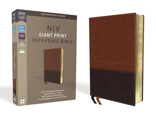 Image for NIV Ref Bible GP LS Brown
