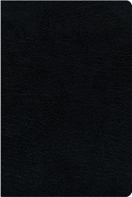 Image for NIV, Thinline Reference Bible, Bonded Leather, Black, Red Letter Edition, Thumb Indexed, Comfort Print
