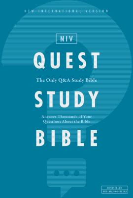Image for NIV, Quest Study Bible, Hardcover, Comfort Print: The Only Q and A Study Bible