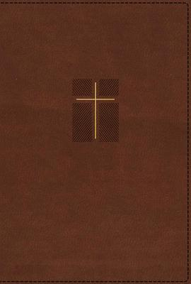 Image for NIV, Quest Study Bible, Leathersoft, Brown, Indexed, Comfort Print: The Only Q and A Study Bible
