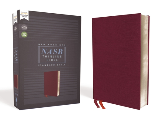 Image for NASB, Thinline Bible, Bonded Leather, Burgundy, Red Letter Edition, 1995 Text, Comfort Print