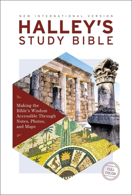 Image for NIV, Halley's Study Bible, Hardcover, Red Letter Edition, Comfort Print: Making the Bible's Wisdom Accessible Through Notes, Photos, and Maps