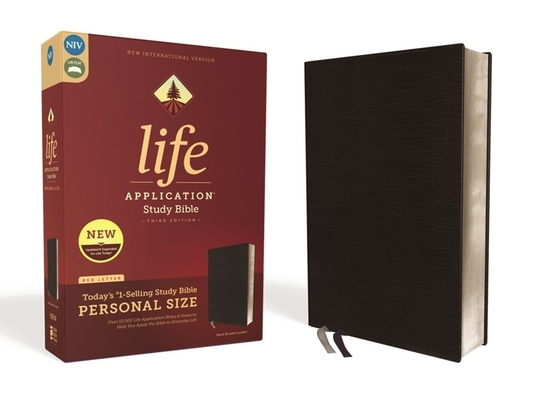 Image for NIV, Life Application Study Bible, Third Edition, Personal Size, Bonded Leather, Black, Red Letter Edition