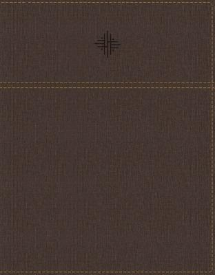 Image for NRSV, Journal the Word Bible, Leathersoft, Brown, Comfort Print: Reflect, Journal, or Create Art Next to Your Favorite Verses