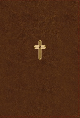Image for NASB, Thinline Bible, Leathersoft, Brown, Red Letter, 1995 Text, Thumb Indexed, Comfort Print