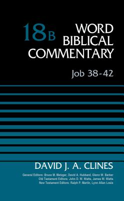 Image for Word Biblical Commentary: Job 38-42