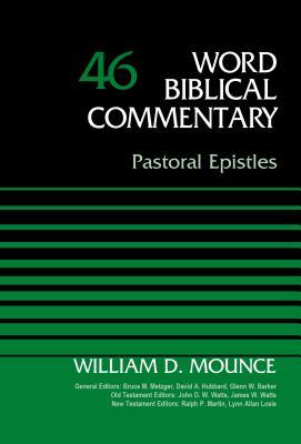 Image for WBC Pastoral Epistles: Pastoral Epistles (Word Biblical Commentary)