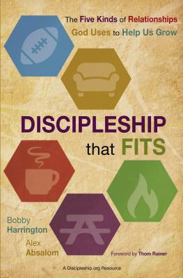 Image for Discipleship That Fits: The Five Kinds of Relationships God Uses to Help Us Grow