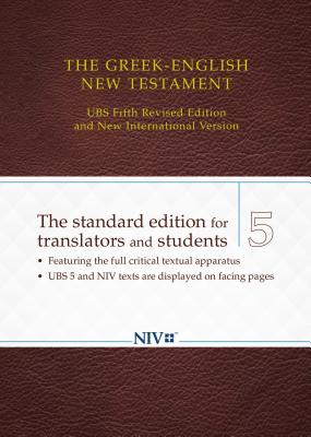 Image for The Greek-English New Testament: UBS 5th Revised Edition and NIV