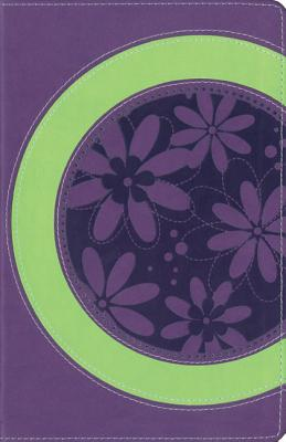 "Image for ""''Faithgirlz! Bible (NIV, Spring GreenPetal Purple Italian Duo-Tone)''"""