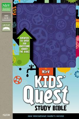 Image for NIrV Kids' Quest Study Bible (Blue)