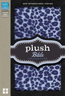"""Image for """"Plush Bible Collection (NIV, Blue Sparkle Leopard, Padded Hardcover)"""""""