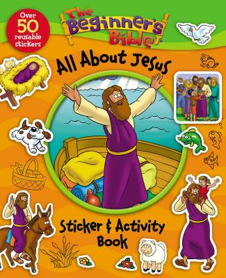 Image for BEGINNERS BIBLE ALL ABOUT JESUS STICKER AND ACTIVI