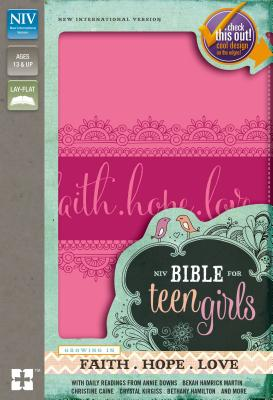 Image for NIV Bible for Teen Girls (Pink)