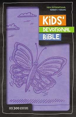 Image for NIrV Kids' Devotional Bible (Lavender Italian Duo-Tone)