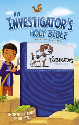 Image for NIV Investigators Holy Bible (Blue)