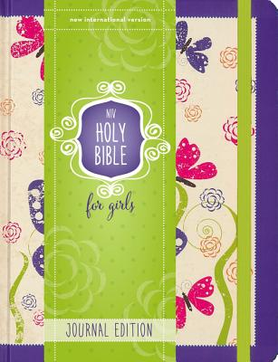 """Image for """"NIV Holy Bible for Girls, Journal Edition (Hardcover, Purple, Elastic Closure)"""""""