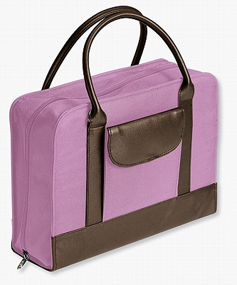 Image for Bible Study Organizer Pink with Leather-Look Accents