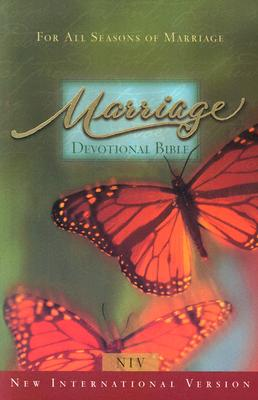 Image for Marriage Devotional Bible (New International Version, Paperback, Butterflies)