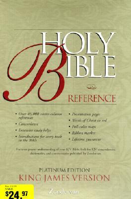 Image for KJV Holy Bible Reference, Platinum Edition