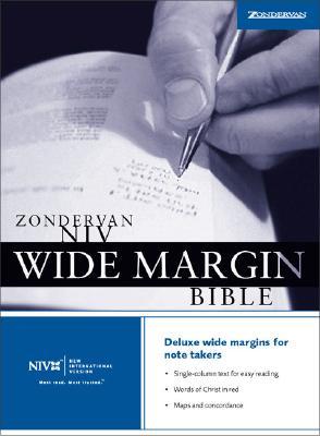 Zondervan NIV Wide Margin Bible, Zondervan