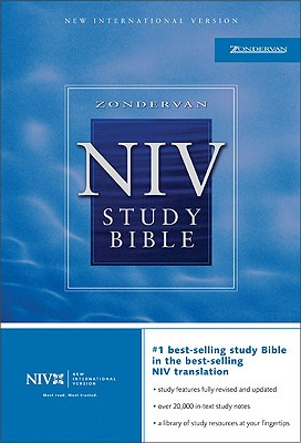 Zondervan NIV Study Bible: New International Version, Barker, Kenneth L.; EDITOR