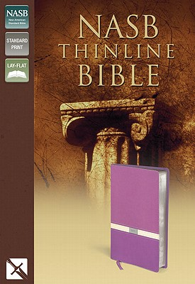 "Image for ""New American Standard Bible, Thinline Bible, Italian Duo-Tone, OrchidButter Cream"""