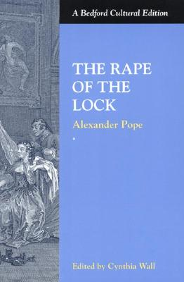 Image for RAPE OF THE LOCK : A BEDFORD CULTURAL EDITION