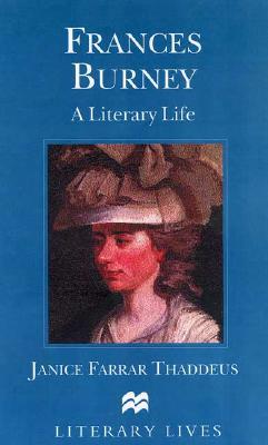Image for Frances Burney: A Literary Life (Literary Lives)